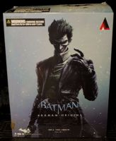 Batman Arkham Origins The JOKER Play Arts Kai Action Figure GENUINE Complete!